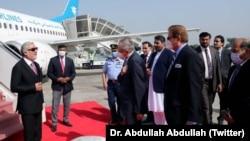 سفر عبدالله عبدالله، رئیس شورای عالی مصالحه ملی به پاکستان