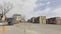 Военный городок для беженцев и бездомных