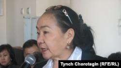 Жаркын Суран кызы Темирбаева (1955–2021). Бишкек. 24.12.2009.
