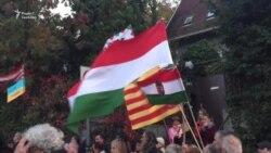 В Угорщині протестували проти ухваленого в Україні закону «Про освіту» (відео)