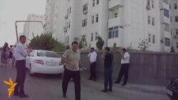 Rare Protest In Turkmenistan