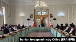 تهران کې د افغان سولې په تړاو غونډه