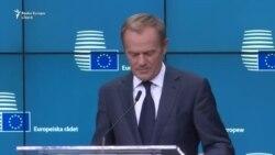 Donald Tusk: problema din Spania nu e pe agenda UE