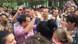В Ташкенте прошла акция в защиту умершего от избиения подростка №2