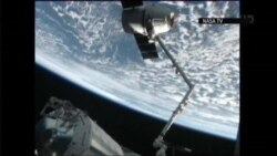 Private 'Dragon' Spacecraft Heads Back To Earth