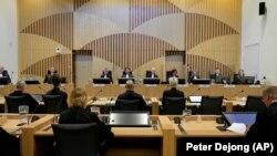 Съдебно заседание по делото за свалянето на MH17 на Малайзийските авиолинии