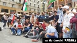 Protest Palestinaca u Beogradu