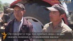 Восемь китайцев на полях Казахстана