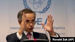 Rafael Grossi, Drejtori i Përgjithshëm i Agjencisë Ndërkombëtare të Energjisë Atomike (IAEA).