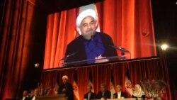 مراسم سالانه شام حسن روحانى با ايرانيان ساكن آمريكا در رستوران چيپريانى در نيويورک