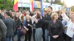 Moldova Avropa Birliyi ilə viza razılaşması şənliklərlə qeyd edir