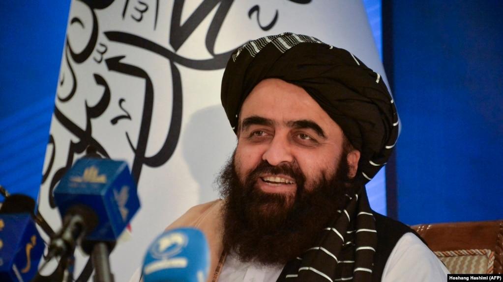 امیرخان متقی، سرپرست وزارت امور خارجه طالبان