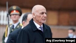 Afghan President Mohammad Ashraf Ghani made his remarks in Dushanbe at the Heart of Asia summit on March 30.