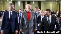 Cei 3 lideri ai statelor balcanice au promis o cooperare mai strânsă între Serbia, Macedonia de Nord și Albania.