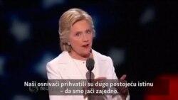 Predsjednički kandidat Hilari Klinton: Svijet gleda šta radimo
