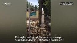 Шарғун шаҳри турғуни: Уйимизни огоҳлантиришсиз бузишди, компенсация беришмади