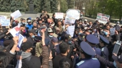 Kazakhs Protest Against Foreign Ownership Of Land