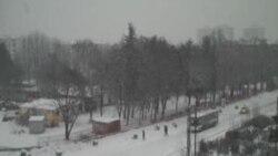 Bora e parë në Shkup