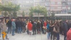 Protest zbog pokušaja ubistva kosovskog novinara
