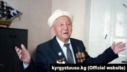 Кыргыз эл жазуучусу Калканбай Ашымбаев. 28.3.2019.
