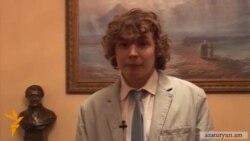 Հրեա երիտասարդը իր ապագան հայերենի ու Հայաստանի հետ է կապում