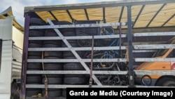 нелегален смет откриен од граничната полиција на Романија