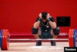 Сауд арабиялық атлет Алсалеем 166 келіні көтере алмай қалғанына өкініп отыр.