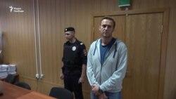 Навальный - в тюрьме, Удальцов - госпитализирован