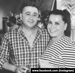 Алекс Бараев с певицей Юлдуз Усмановой.