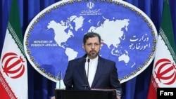 سخنگوی وزارت خارجه ایران میگوید که تهران «تحریمهای متقابل را در واکنش به اقدام اتحادیه اروپا در دست بررسی دارد».
