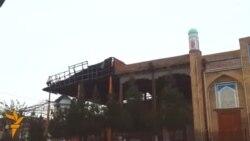 OZOD-VIDEO: Самарқандда масжидга ўт кетди