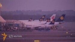 Пилотлар иш ташлаши туфайли Lufthansa 750дан ортиқ рейсни бекор қилди