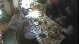 Кадр з рэпартажу тэлеканалу АНТ