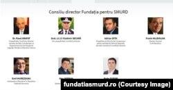 Consiliul director al Fundației SMURD