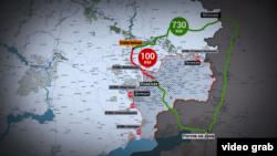 Дорога зі Слов'янська в Єнакієве