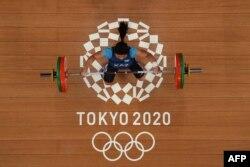Чиншанло Токио олимпиадасында.