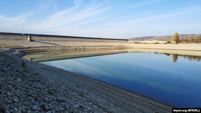 Аянське водосховище, 25 жовтня 2020 року