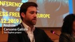 Andrew Caruana Galizia, fiul jurnalistei din Malta ucise în 2017, invitat la Congresul Asociației Europene a Jurnaliștilor