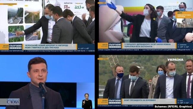 Телеканал Ахметова регулярно позитивно висвітлює діяльність влади Зеленського, відзначалося в моніторингу теленовин «Детектор медіа»
