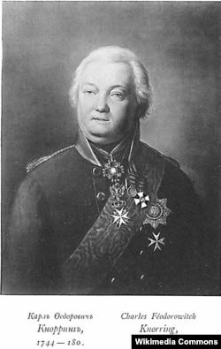 Карл Фёдорович фон Кнорринг