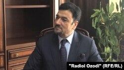 Муҳаммад Зоҳир Ағбар ҳангоми суҳбат бо Радиои Озодӣ, шаҳри Душанбе, 25-уми августи 2021
