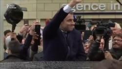 Ле Пен и Макрон проголосовали на выборах во Франции