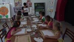 Atelier de pictură pentru copiii din familii vulnerabile