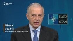 """Mircea Geoană, numărul 2 în NATO: """"Nu există o falie în Alianța Nord Atlantică"""""""