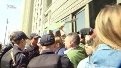 Задержания на акции против сноса домов