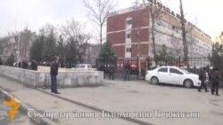 Сӯхтор дар бинои Додгоҳи олии Тоҷикистон