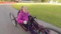 """Велосипед """"наоборот"""" для дочери-инвалида"""