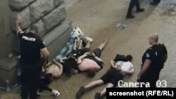 Од видеото на кое е снимено полициското насилство за време на антивладините демонстрации во Софија на 10.07.2020 година