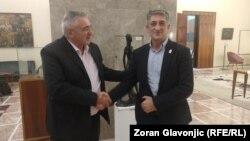 Stjepan Sučić i Veljko Odalović u Beogradu