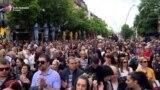 Protest u Mitrovici zbog hapšenja na Kosovu